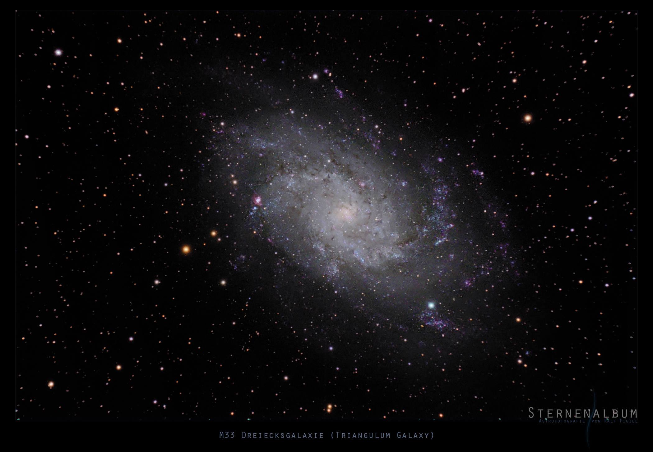 M33 - Dreiecksnebel (Triangulum)