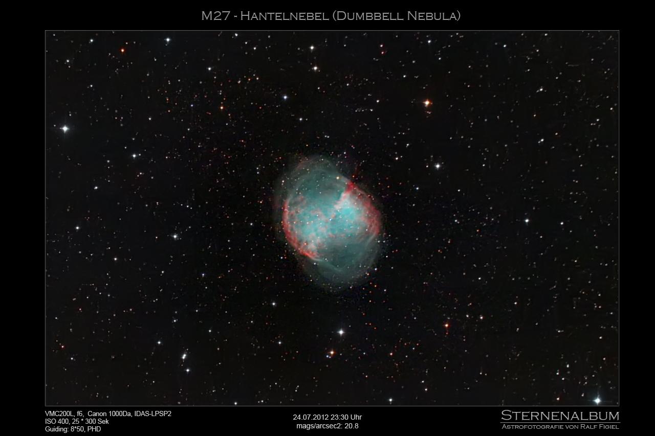 M27 - Der Hantelnebel (Dumbbell Nebula)