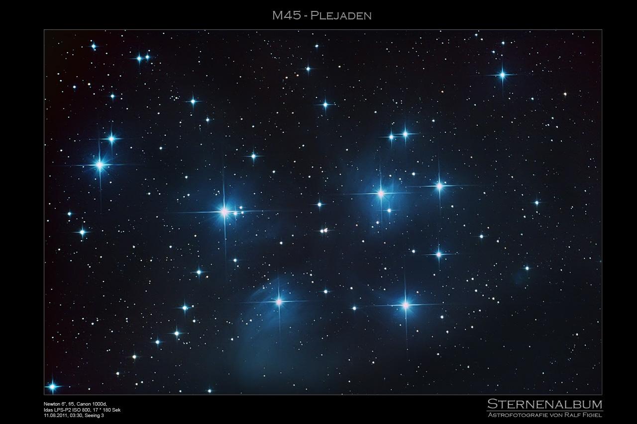 M45 - Plejaden