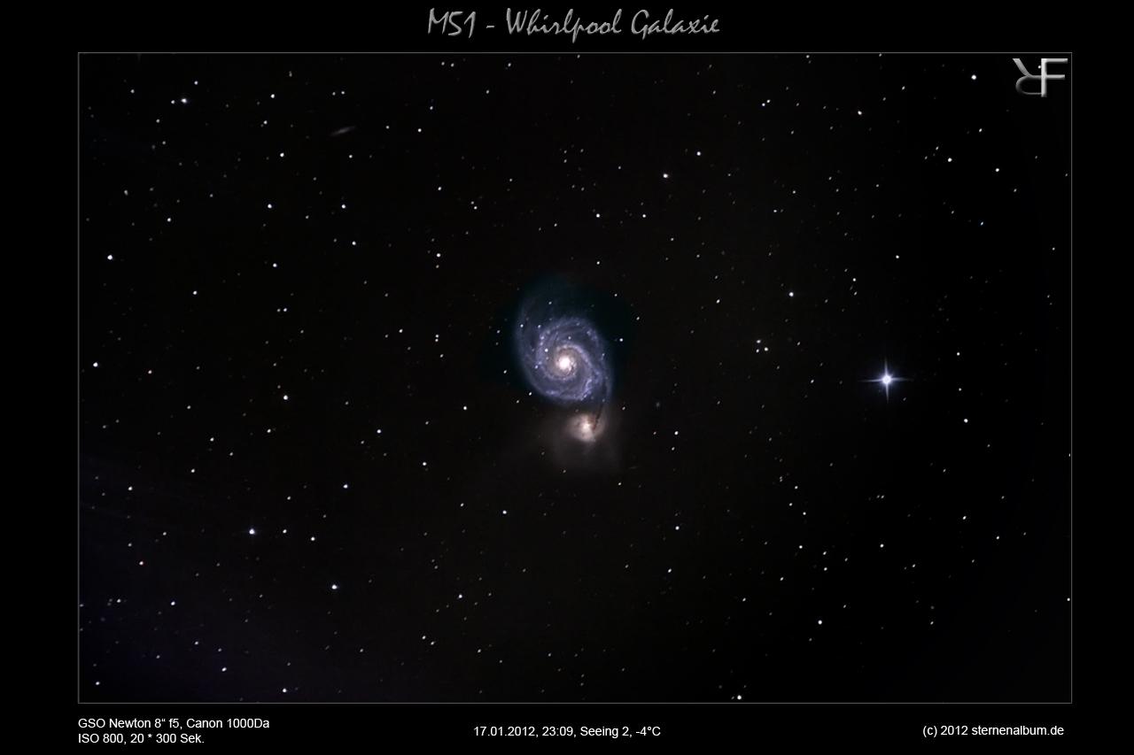 M51 - Die Whirlpool Galaxie