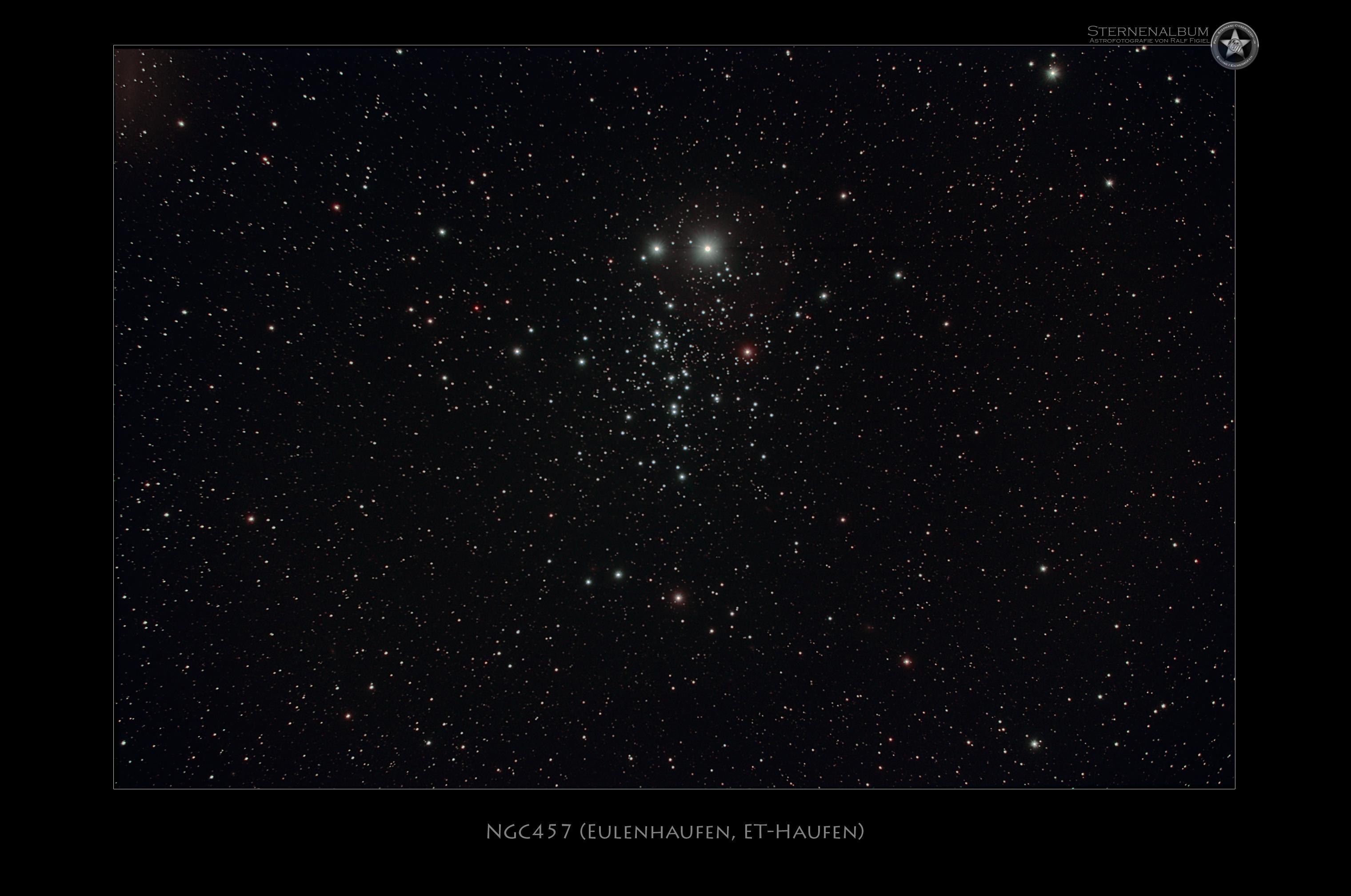 NGC457 - Eulenhaufen
