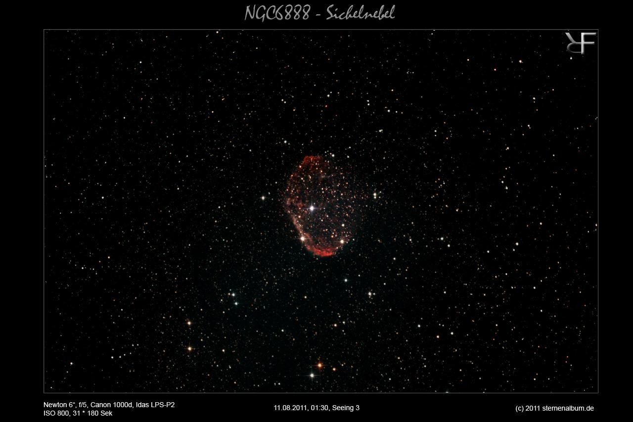 NGC6888 - Der Sichelnebel