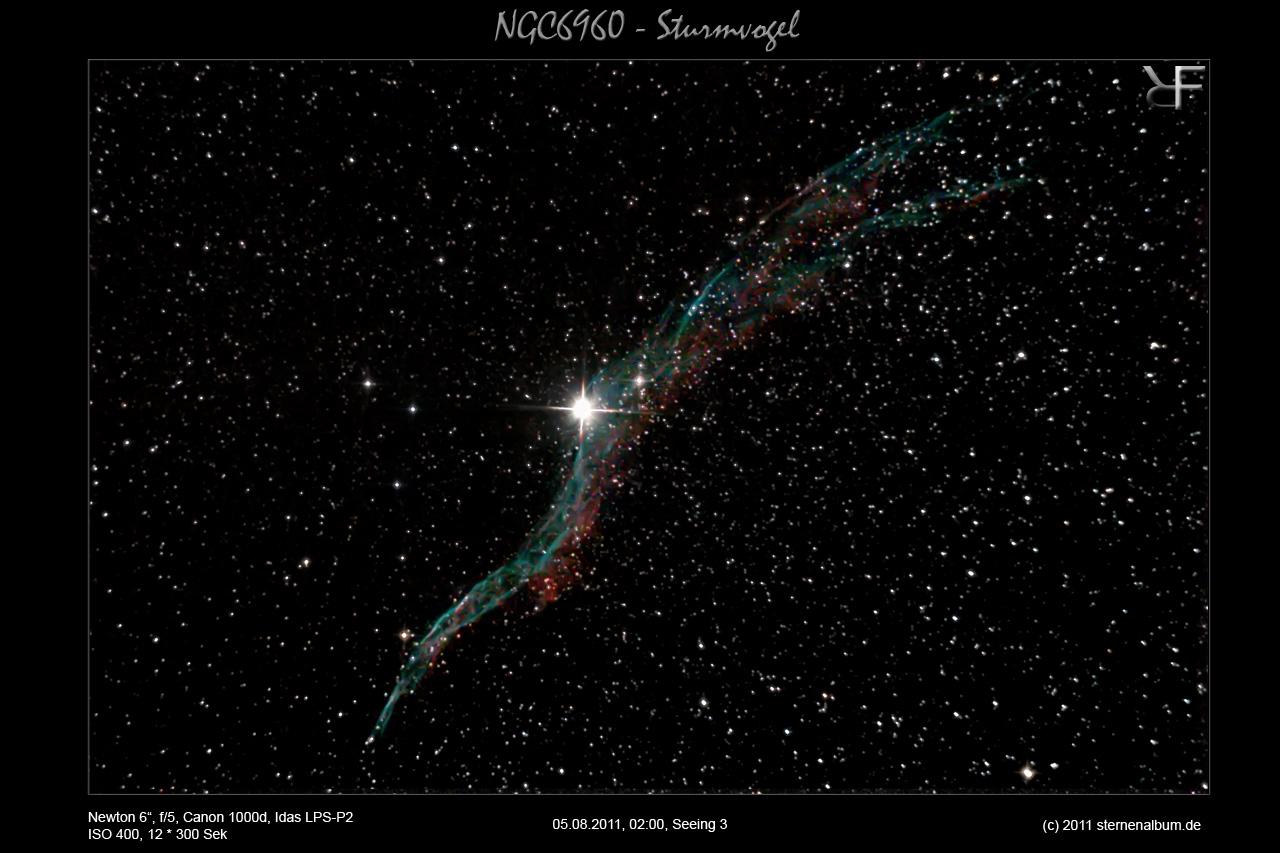NGC6960 - Der Sturmvogel