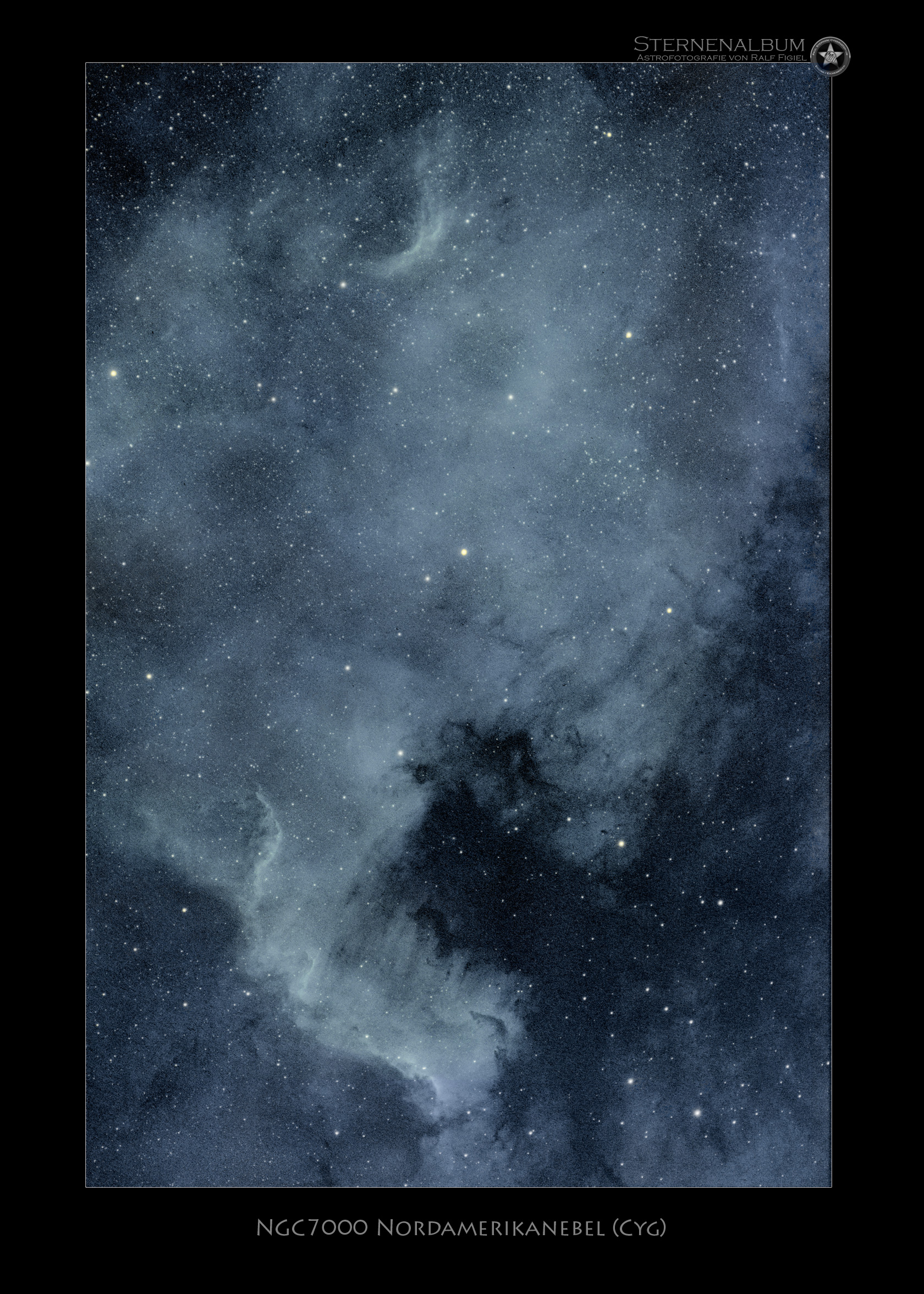NGC 7000 - Nordamerikanebel bicolor