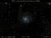 M101 - Die Feuerradgalaxie mit Supernova