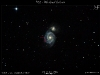M51 - Supernova in Whirlpoolgalaxie