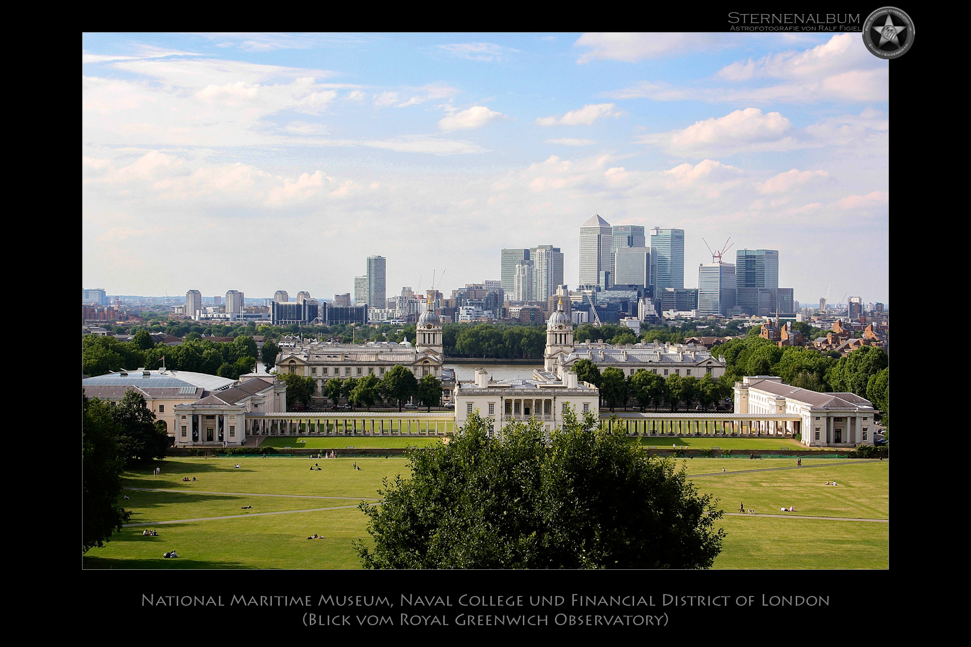 Greenwich Park und Financial District