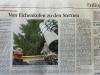 Sternwarte in der Zeitung